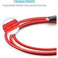 Anker PowerLine + Lightning kabel pro iPhone, délka 1,8m, s váčkem, červená