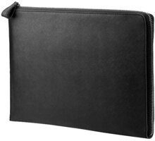 HP 12.5 Leather Black Sleeve - 2VY61AA
