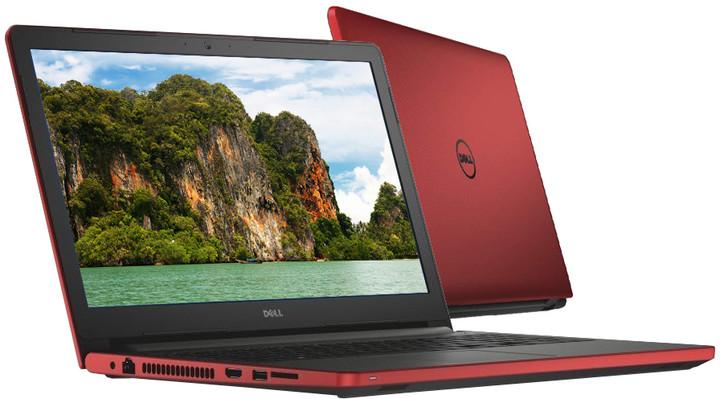 Dell Inspiron 17 (5759), červená