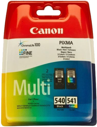 Canon PG-540XL/CL-540XL Photo Value pack security