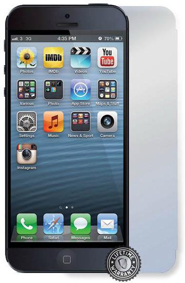 Screenshield ochrana displeje Tempered Glass pro Apple iPhone 5S/SE přední a zadní