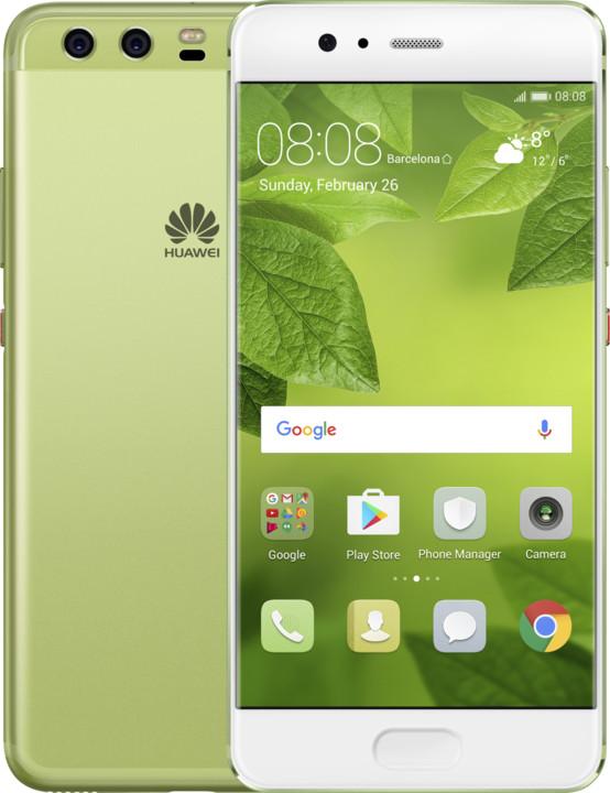 Huawei P10, Dual Sim, zelená