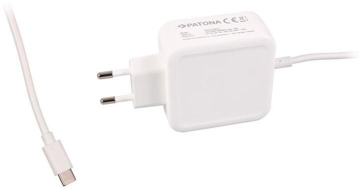 Patona univerzální napájecí adaptér 5V-20V, 29W, konektor USB-C pro tablet/PC/Smartphone