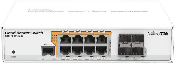 Mikrotik Cloud Router Switch CRS112