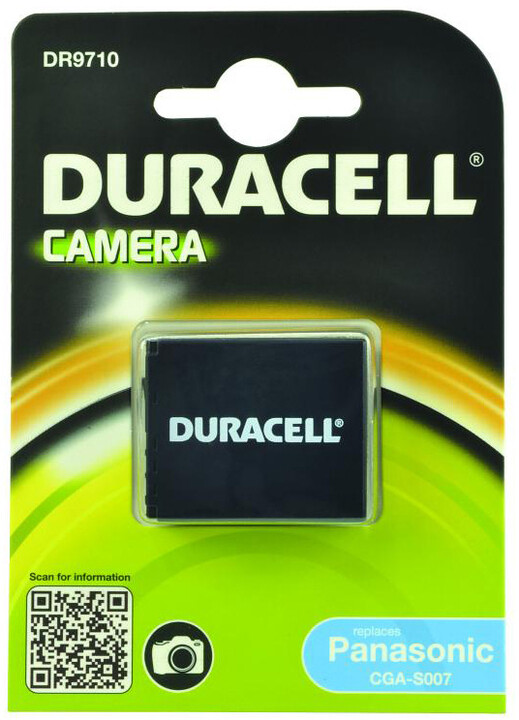 Duracell baterie alternativní pro Panasonic CGA-S007A/1B
