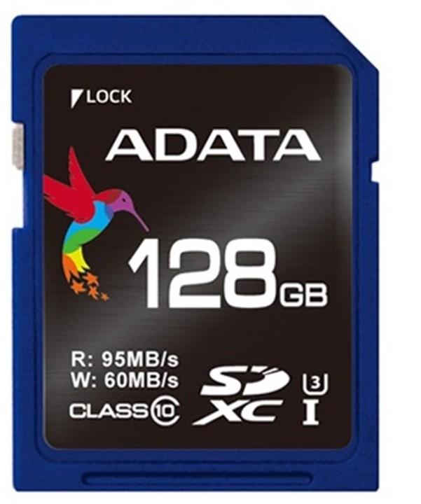 ADATA SDXC Premier Pro 128GB UHS-I U3