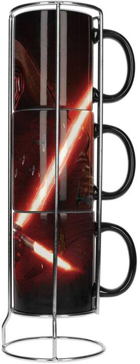 Hrnek Star Wars - Kylo Lightsaber (sada 3 hrnků)