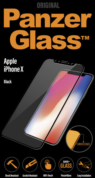 PanzerGlass Premium pro Apple iPhone X / XS, černé
