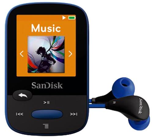 SanDisk Sansa Clip Sports 8GB, modrá