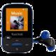 SanDisk Sansa Clip Sports 8GB, modrá  + Voucher až na 3 měsíce HBO GO jako dárek (max 1 ks na objednávku)