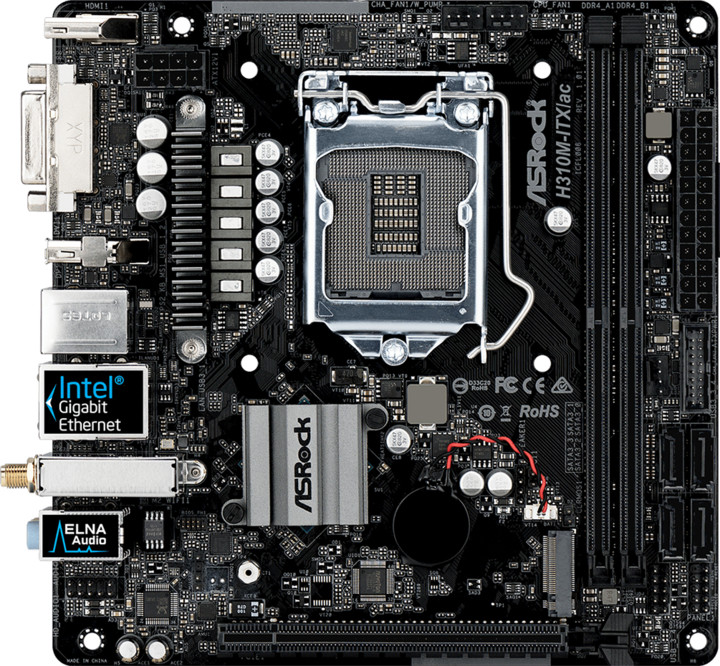 ASRock H310M-ITX/ac - Intel H310