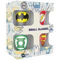Sklenice panáky DC Comics - set 4 kusů