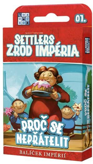 Karetní hra Settlers: Zrod impéria - Proč se nepřátelit, CZ