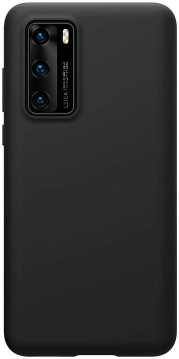 Nillkin silikonové pouzdro Flex Pure Liquid pro Huawei P40, černá