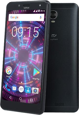 myPhone FUN 18x9, 1GB/8GB, černá