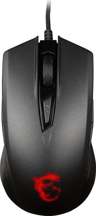 MSI Clutch GM40, černá