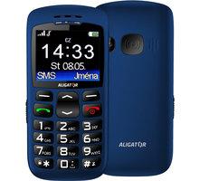 Aligator A670, modrá + nabíjecí stojánek  + Elektronické předplatné čtiva v hodnotě 4 800 Kč na půl roku zdarma + Kuki TV na 2 měsíce zdarma