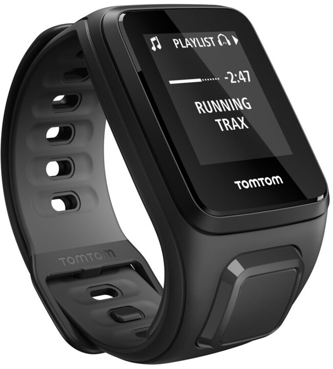 TOMTOM Runner 2 Music (velikost S), černá/antracit