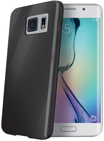 CELLY Gelskin TPU pouzdro pro Samsung Galaxy S6 Edge, černá