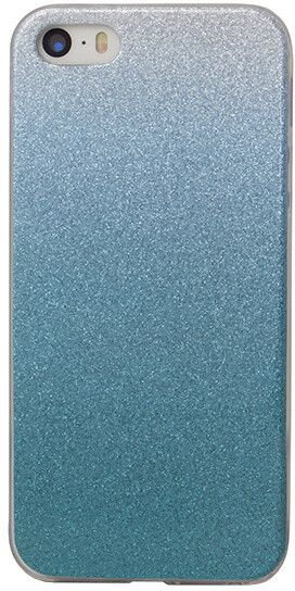EPICO pouzdro pro iPhone 5/5S/SE GRADIENT - tyrkysový