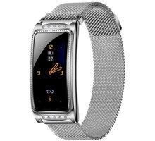IMMAX chytré hodinky Crystal Fit, stříbrné - HODIMM1068
