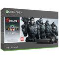 XBOX ONE X, 1TB, černá + Gears 5 Standard Edition