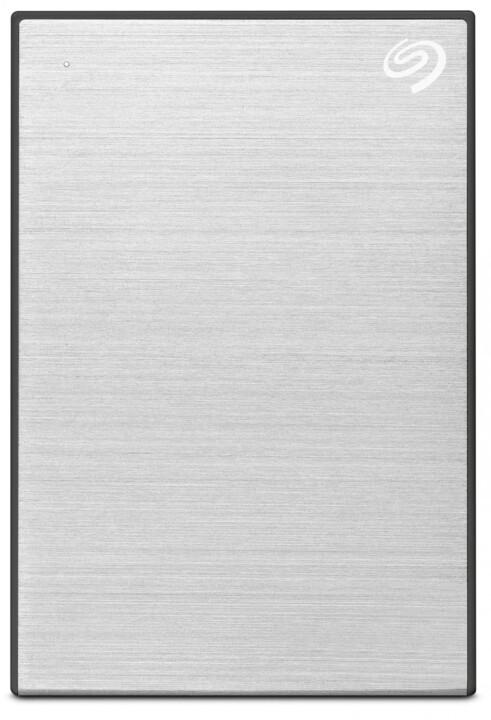 Seagate One Touch Portable - 1TB, stříbrná