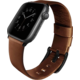 UNIQ Mondain Apple watch 4 Genuine Leather strap 44mm, sepia