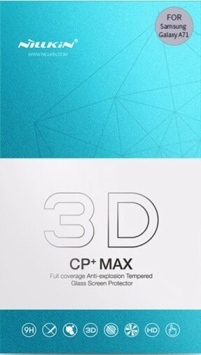 Nillkin tvrzené sklo 3D CP+MAX pro Samsung Galaxy A71, černá