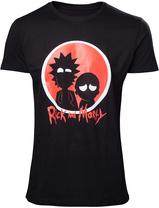 Rick and Morty - Big Red Logo (XXL)