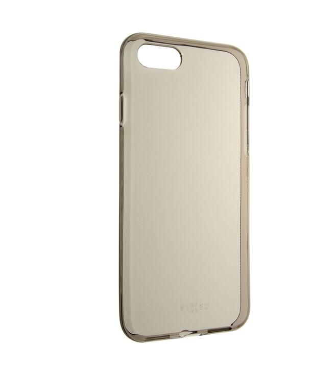 FIXED TPU gelové pouzdro Slim pro Apple iPhone 7/8/SE 2020, 0.6 mm, kouřová