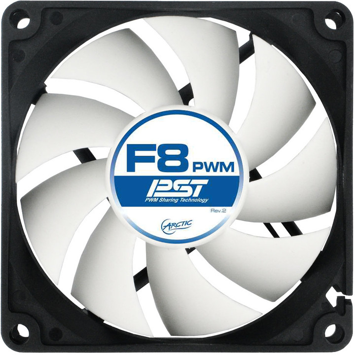 Arctic Fan F8 PWM PST (5ks)