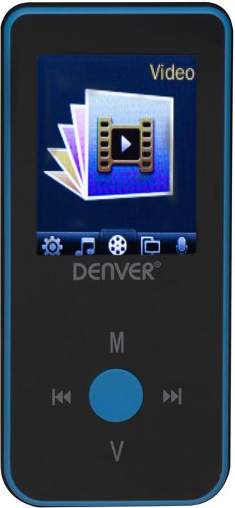Denver MPG-4084BT, 4GB, modrá