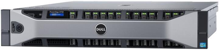 Dell PowerEdge R730 R /E5-2630v4/16GB/300GB SAS 15K/H730/750W/Rack 2U