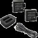 Rollei externí nabíječka pro kamery 530/630 + 2x baterie  + Voucher až na 3 měsíce HBO GO jako dárek (max 1 ks na objednávku)