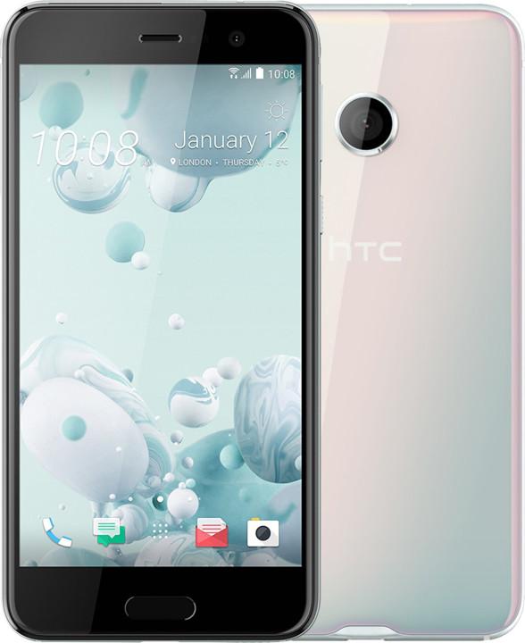 HTC U PLAY, Ice White