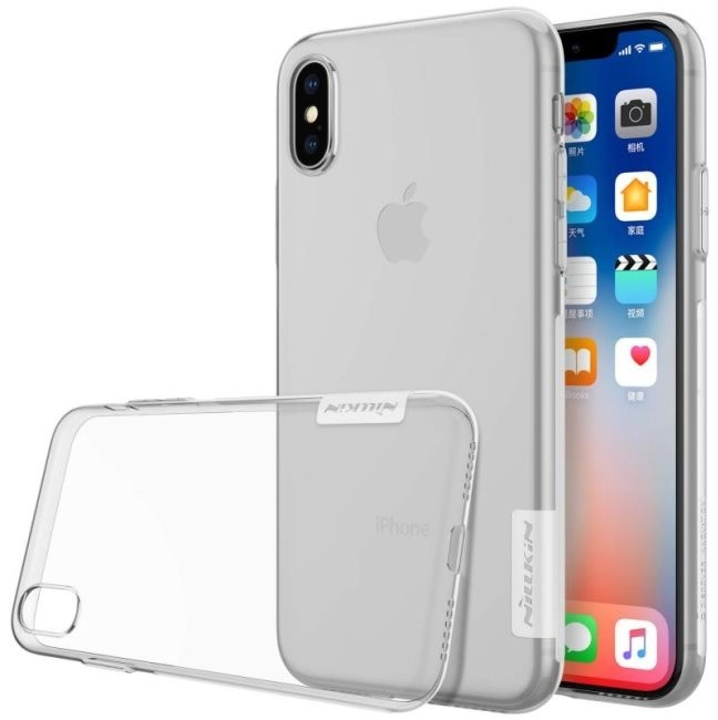 Nillkin Nature TPU pro iPhone X, Transparent