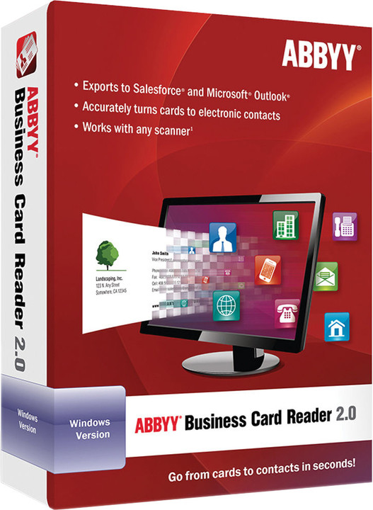 ABBYY Business Card Reader 2.0 / ESD / CZ