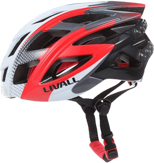 LIVALL BH60 chytrá cyklistická přilba, M-XL bílo-červená