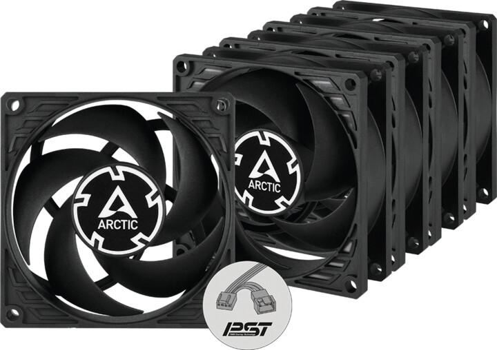 Arctic P8 PWM PST Value pack (5ks), 80mm