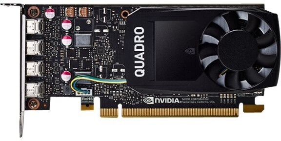 PNY NVIDIA Quadro P1000 V2, 4GB GDDR5