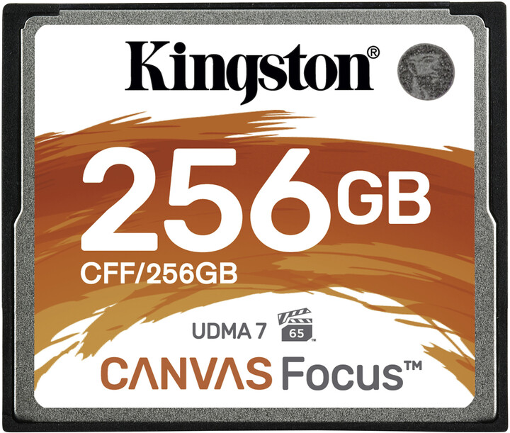 Kingston CompactFlash Canvas Focus 256GB 150MB/s
