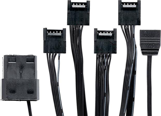 iTek Addressable adapter ARYA (3pin) pro chladiče a LED strips ARYA (up to 4 fans / strips)