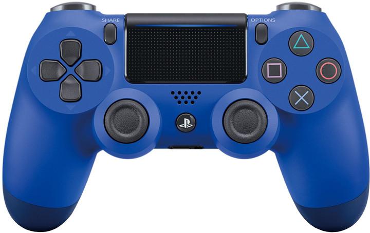 Sony PS4 DualShock 4 v2, modrý