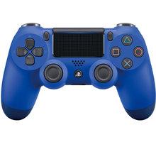 Sony PS4 DualShock 4 v2, modrý  + Nakupte alespoň za 2 000 Kč a získejte 100Kč slevový kód na LEGO (kombinovatelný, max. 1ks/objednávku)