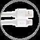 EPICO LED INDICATION Lightning - USB, MFI, 1.2m, šedá