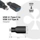 Club3D USB 3.1 TYPE C na USB 3.0 redukce