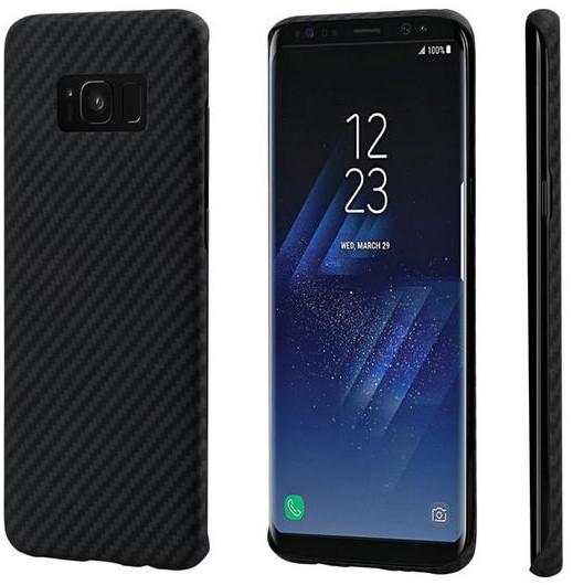 Pitaka Aramid case pro Samsung Galaxy S8+, černá/šedá