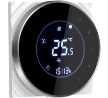 iQtech SmartLife termostat pro kotle GALW-B, se spínačem, černá - IQTGALW-B