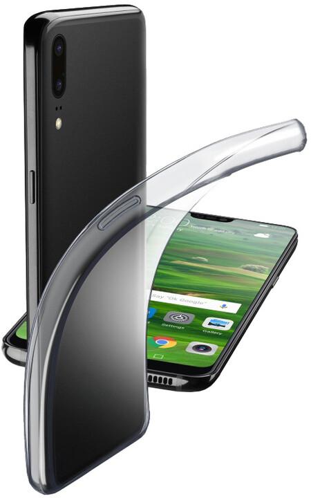 CellularLine extratenký zadní kryt Fine pro Huawei P20, bezbarvý